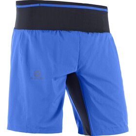 Salomon Trail Runner Løbeshorts Herrer blå/sort